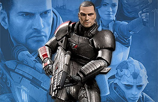 Mass Effect Figures Amazon Mass Effect 2 Action Figures