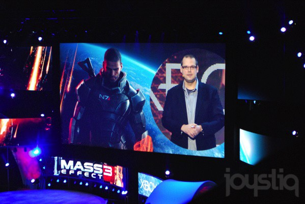 E3 2011 Microsoft Games: Mass Effects 3