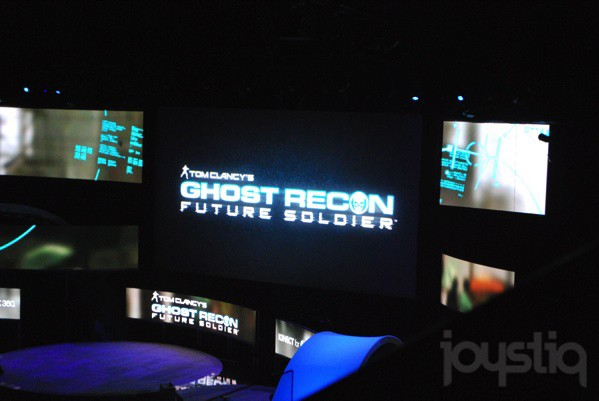 E3 2011 Microsoft Games: Ghost Recon Future Soldier