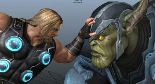 Concept from Avengers video game cancelled by THQ