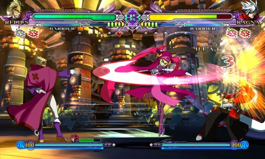 Blazblue continuum shift 2 coming to ps3 360