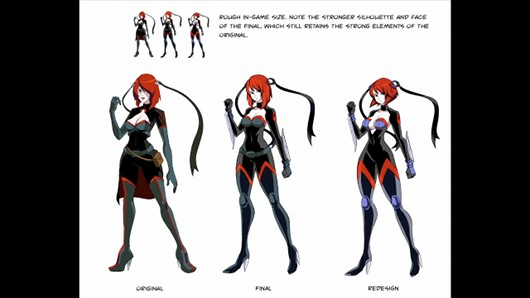 Bloodrayne character designs