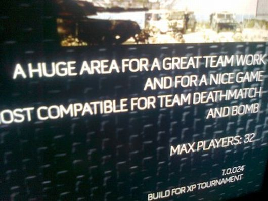 Possible leak from Call of Duty XP