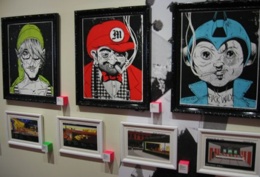 Art from the new Super iam8bit show