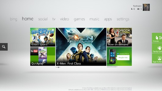 Xbox Live Fall Dashboard preview: From nonsense to Metro
