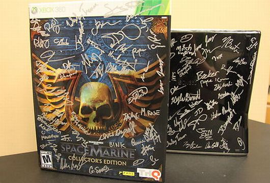 A signed Xbox up for auction to commemorate Brian Wood's death.