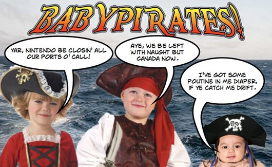Baby Pirates Forever