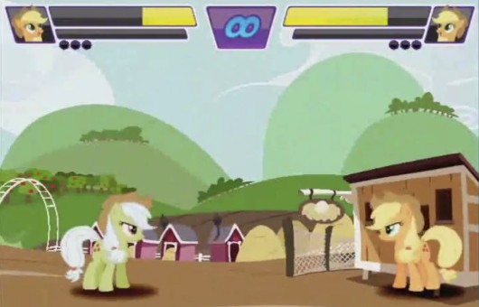 'Fighting is Magic' in fanmade My Little Pony fighter