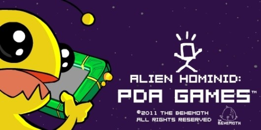 Alien Hominid: PDA Games holds iOS devices at laser-point