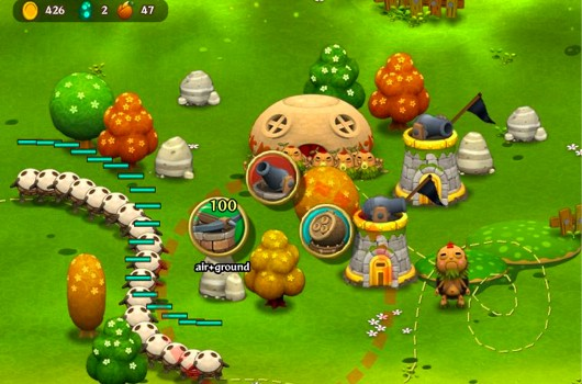 PixelJunk Monsters Online for facbook