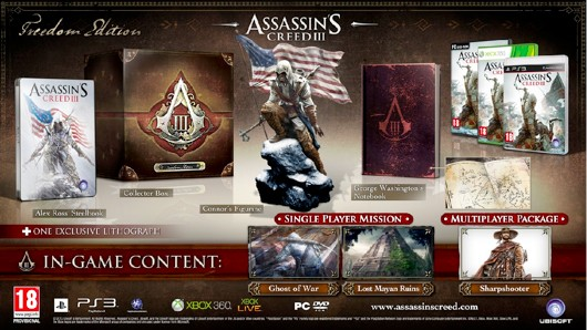 Assassin's Creed 3 special editions bound for Europe