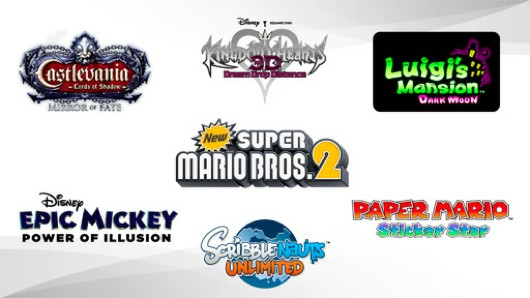 3DS digital releases to include Epic Mickey, Scribblenauts Unlimited, Kingdom Hearts