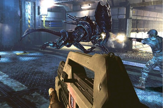 Aliens Colonial Marines E3 screens are mostly alrightmostly