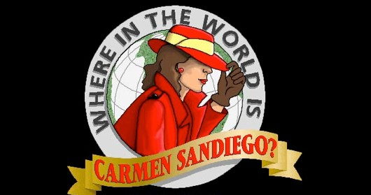 Where is Carmen Sandiego She's at your local cinema!