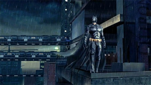 The Dark Knight Rises mobile game is a thing