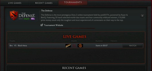 Dota 2 competitive play esports something something
