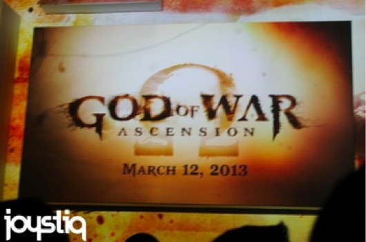 God of War Ascension gameplay revealed at Sony's E3 press conference
