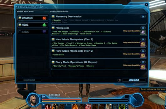 Star Wars The Old Republic gets 13 update in maintenance tonight