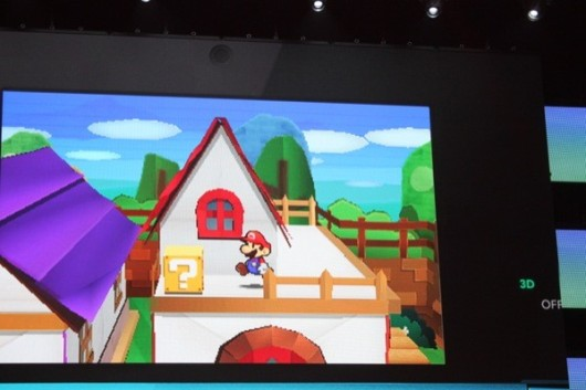 Paper Mario Sticker Star sticking to 3DS this holiday season