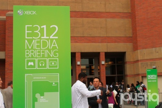 Joystiq live from Microsoft's E3 2012 press conference