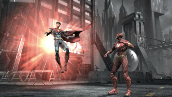 Injustice Gods Among Us' 'Clash' systems