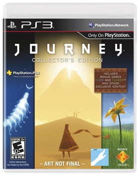 'Journey Collector's Edition' gets 'exclusive minigames,' all three soundtracks