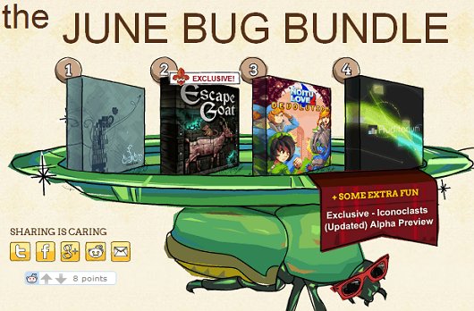 Indie Royale June Bug Bundle now live, as is a system for managing previous bundle purchases