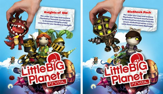 LittleBigPlanet Vita preorder costumes
