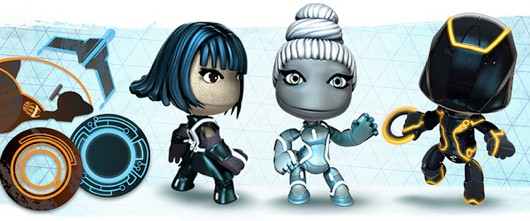 Tron Legacy minipack release for LittleBigPlanet 2