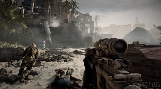 Get gritty with this Medal of Honor Warfighter gameplay