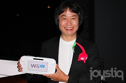 Miyamoto designing a new game, but it'll be a while