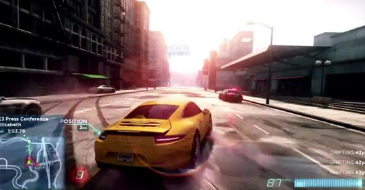 Buckle up for Need for Speed Most Wanted gameplay