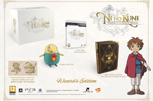 Ni no Kuni's fancy European collector's edition
