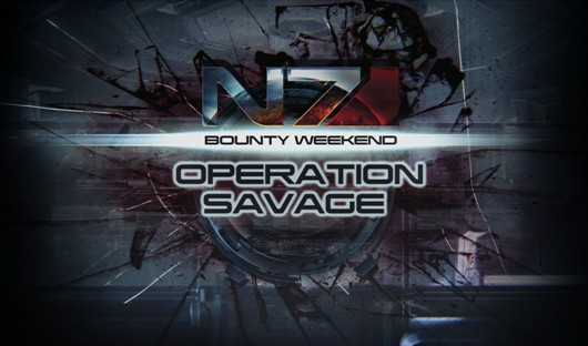 Join Operation Savage this weekend in Mass Effect 3 multiplayer