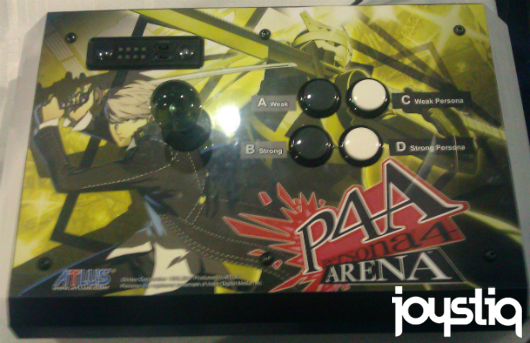SeenE3 The Persona 4 Arena stick that never was