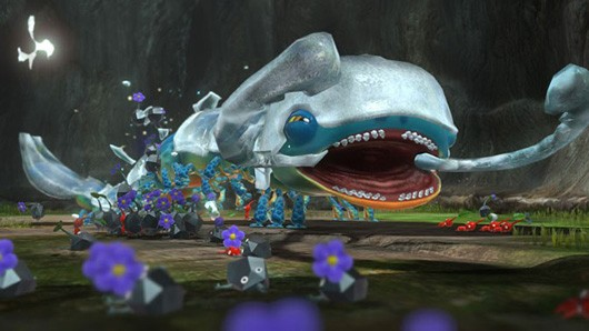 Pikmin 3 lacking online multiplayer because  there are a bunch of Pikmin
