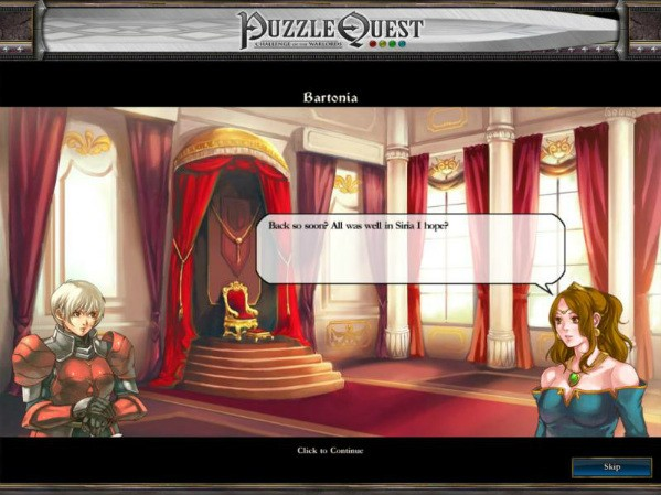 Puzzle Quest a roleplaying gem