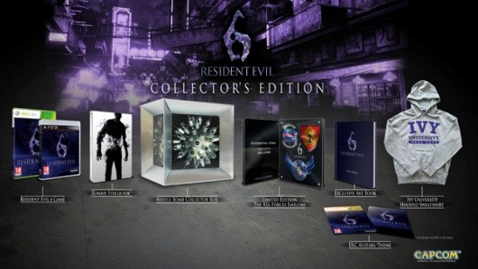 Resident Evil 6 Collector's Edition infecting Europe and Australia