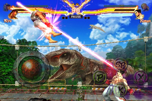 Of course Capcom's making a mobile SF x Tekken game