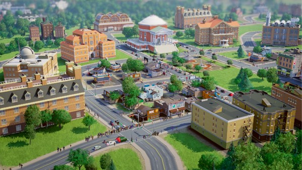 Build a SimCity with friends, challenges keep game moving along