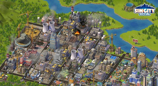 SimCity Social balancing depth and accessibility
