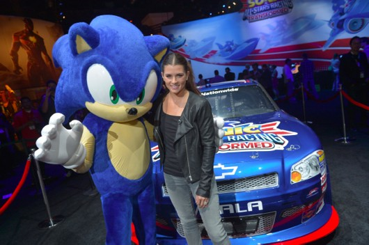 Danica Patrick is in Sonic and AllStars Racing Transformed