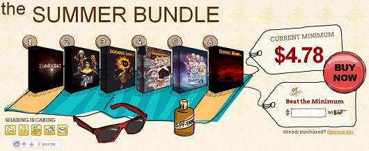 Indie Royale launches The Summer Bundle with 8 games and various bonuses