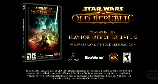 Star Wars The Old Republic getting freetoplay update to level 15