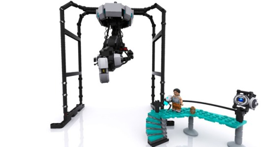 This Portal Lego set is in testing phase, your vote can help it pass