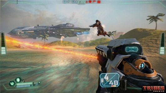 Tribes Ascend now on Steam