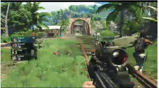 Ubisoft shows off fourplayer coop in Far Cry 3