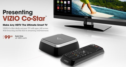 Vizio's 'CoStar' makes your TV smarter, hooks it up with OnLive