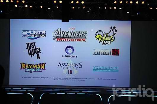 These are the titles Ubisoft is developing for Wii U