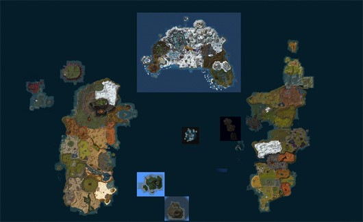 World of MapCraft explore Azeroth using a Google Mapsstyle interface